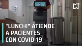 La robotica mas activo con los pacientes con COVID-19