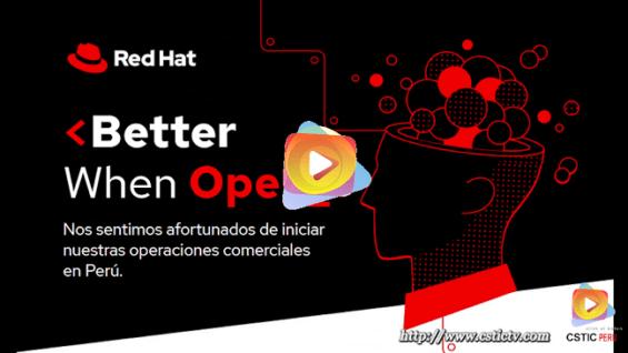 La Bienvenida de Red Hat en Perú