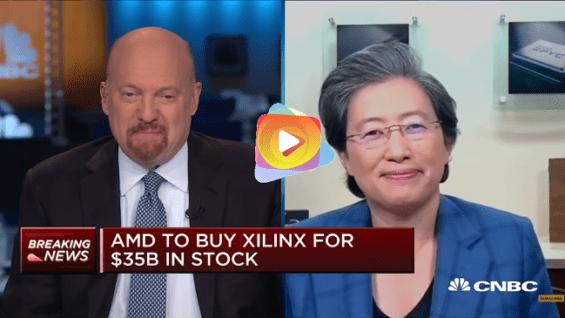 La directora ejecutiva de AMD, Lisa Su, en un acuerdo de acciones de 35.000 millones de dólares con Xilinx