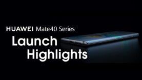 Lanzamiento global en línea de la serie HUAWEI Mate40 – Aspectos destacados