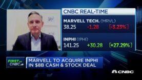 El director ejecutivo de Marvell Tech sobre la adquisición de la empresa de centros de datos Inphi, crecimiento 5G