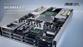 Servidor de GPU ESC4000A-E10 AMD EPYC – ASUS