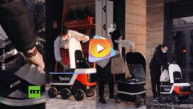 robot comida
