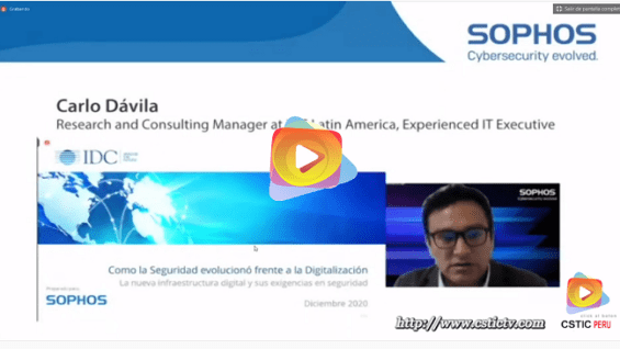 Evento: Sophos Virtual Cybersecurity Evolved