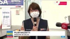 La Ministra de Salud de Perú, anuncio el comienzo de la segunda ola de Covid-19