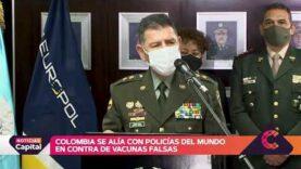 Colombia: Lanzan la operación 'Eslabón', para hacer frente al tráfico de vacunas contra COVID-19