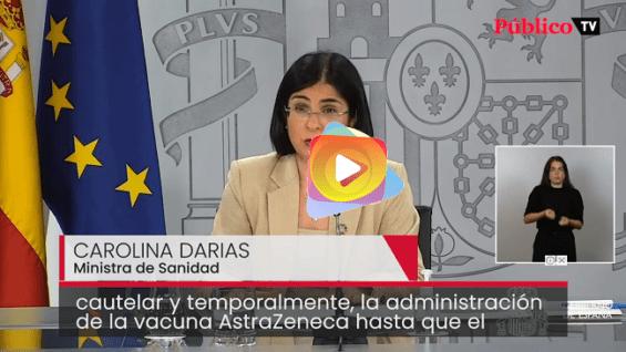 España paraliza la vacuna de AstraZeneca contra la covid-19