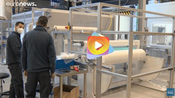 La primera mascarilla biodegradable
