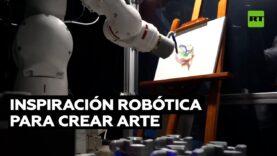 Robot emplea inteligencia artificial para crear cuadros