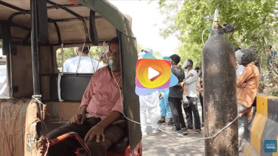 Desgarradora situación en la India por el Covid19