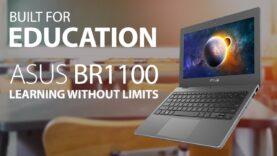 ASUS BR1100: La mejor computadora portátil para la educación de tus hijos