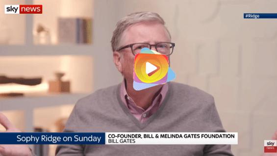 Covid-19: Bill Gates se reafirma que el mundo regresara a la nomalidad a fines del 2022