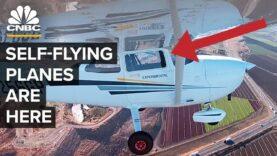 Así es como es volar en un avión sin piloto