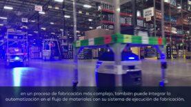 La automatización de líneas de trabajo internas en almacenes