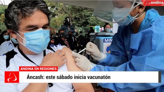Coronavirus en Perú: este sábado inicia vacunatón en Provincias