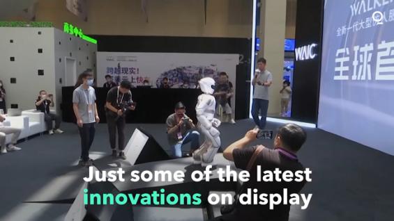 Conferencia Mundial de IA: Los robots muestran las innovaciones de China en IA