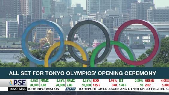 Ceremonia de apertura de los Juegos Olímpicos de Tokio para dar inicio a los juegos a pesar de los temores de COVID-19