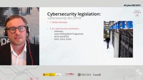 Marco regulatorio de ciberseguridad en Europa.