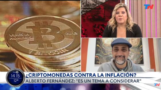 Las criptomonedas ayudarían a contener la inflación en Argentina