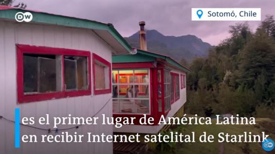 Internet rápido en las zonas más alejadas de Chile