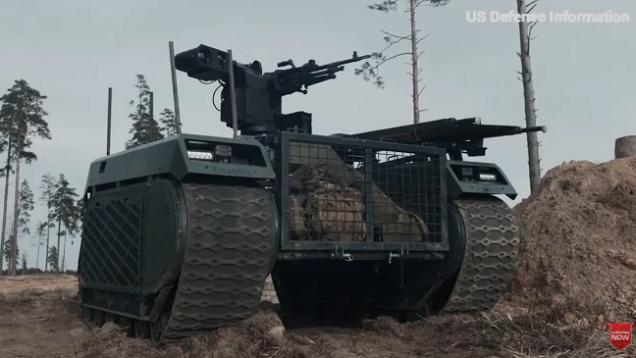 El nuevo robot matador de tanques del ejército de EE. UU. Dispara múltiples misiles antitanques