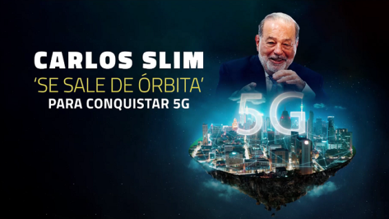 Carlos Slim se 'lanza' a su propia conquista espacial