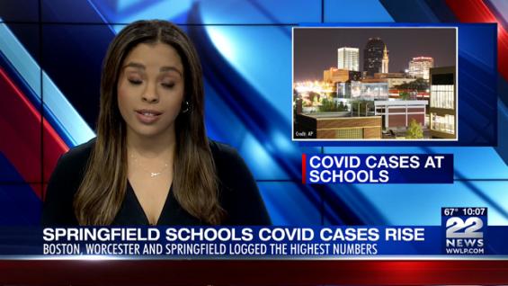 Las escuelas informan 1,230 casos de COVID-19 durante tres días