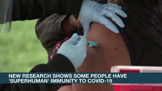 Una nueva investigación muestra que algunas personas tienen inmunidad 'sobrehumana' al COVID-19