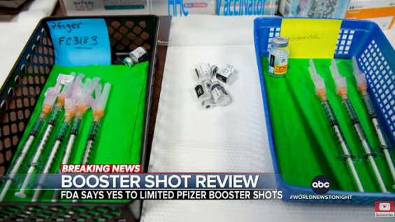 El refuerzo de COVID-19 de Pfizer podría llegar al final de la semana