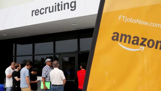 El CEO de Amazon, Andy Jassy, revela una ola de contratación de 55.000 puestos de trabajo