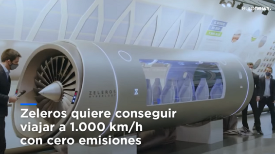 Hyperloop el nuevo tren del futro que unirá París con Berlín en una hora