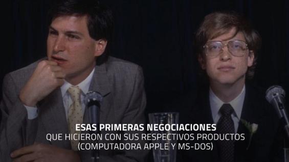 Cuando Microsoft invirtió en Apple